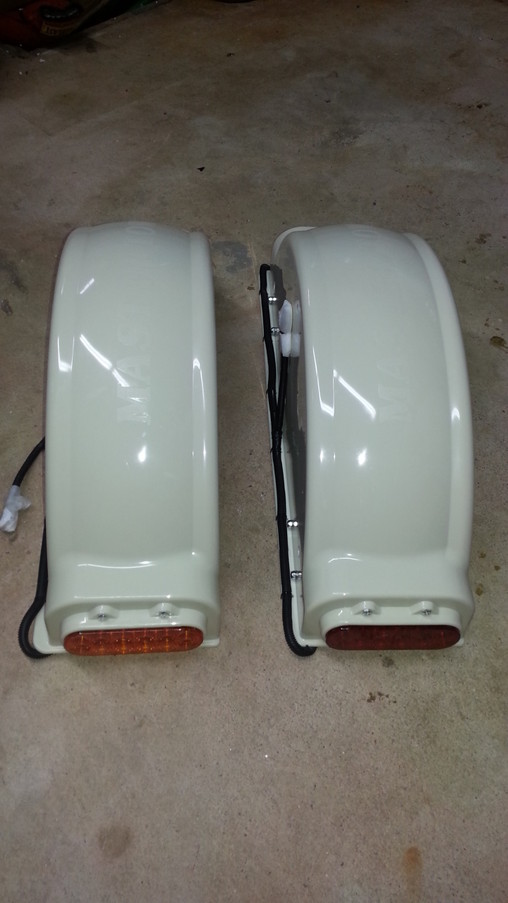 Pair Of Fenders on Tow Dolly Parts